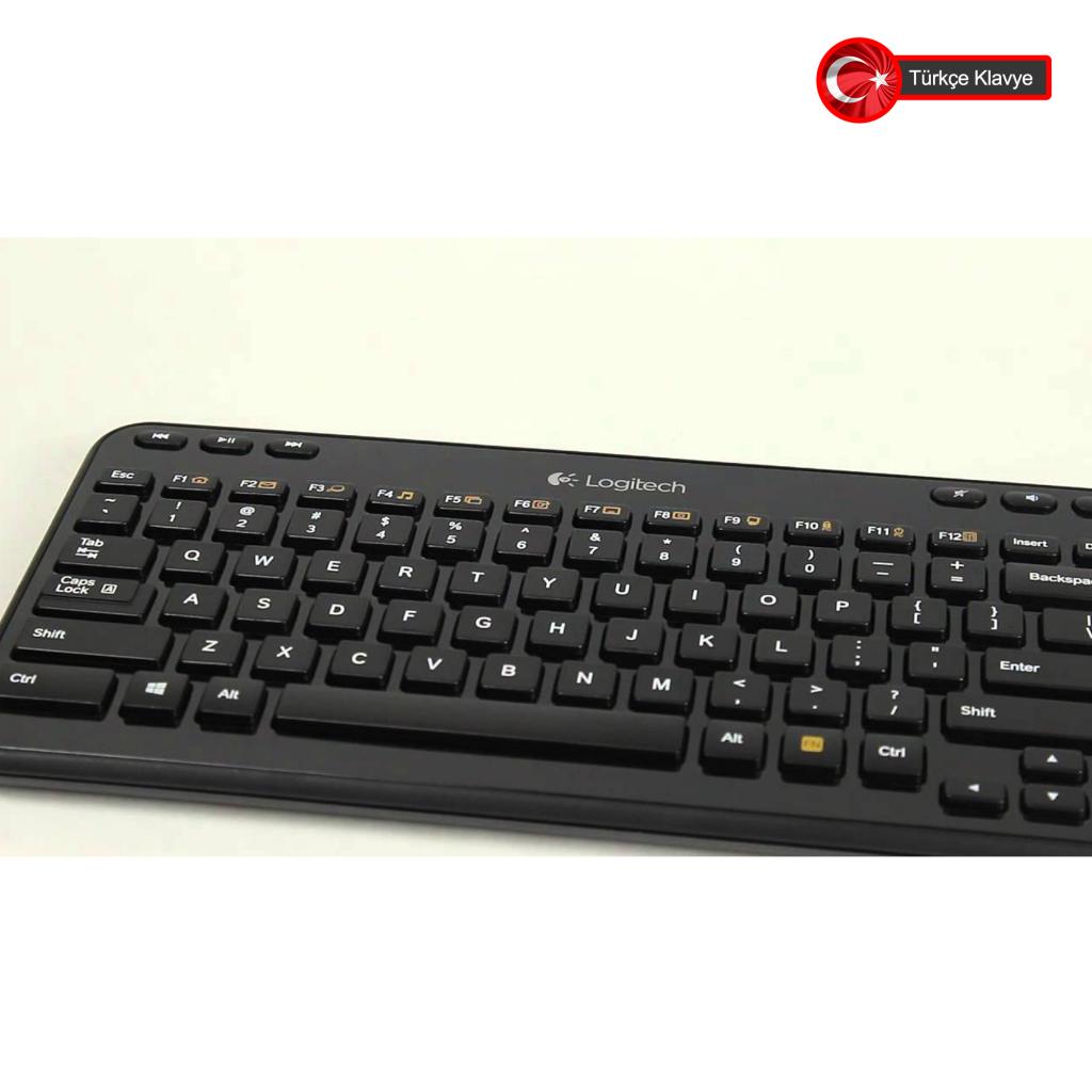 faf5ad5ddf1 ... Logitech K360 (920-003084) Kablosuz Multimedya Türkçe Q Klavye.  Tükenmek Üzere Son 4 Ürün