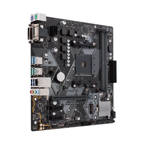 ASUS PRIME B450M-K DDR4 DVI D-SUB USB3,1 AM4