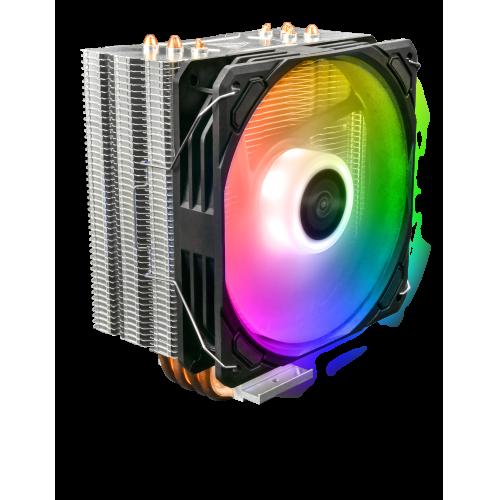 GAMDIAS BOREAS E1-410 ARGB 120mm CPU  Soğutucusu (AMD ve INTEL Tüm işlemciler ile uyumlu)