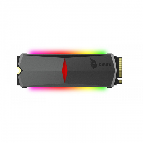 HIKVISION HS-SSD-E2000R 256GB 3100/1000 RGB GAMING, NVME PCIe M.2 SSD