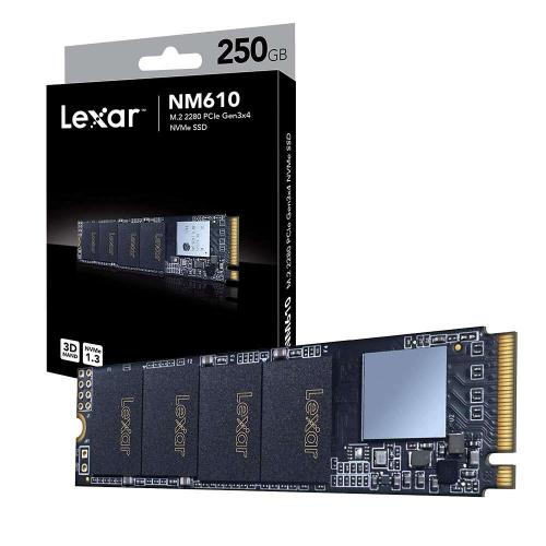 LEXAR NM610 LNM610-250RB 250Gb 2100/1200 NVME PCIe M.2 SSD