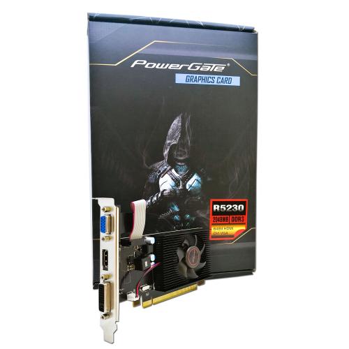 POWERGATE PG-R5230-D3-2GB GDDR3 HDMI, DVI, Analog Ekran Kartı