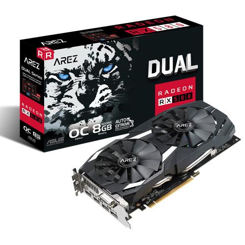 ASUS AREZ DUAL RX580-O8G 8Gb DDR5 256Bit DVI HDMI DP
