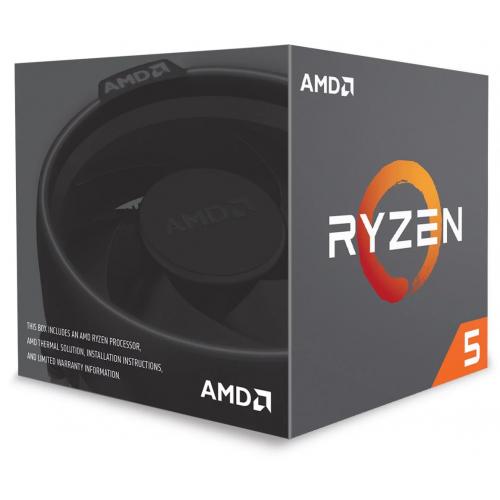 AMD RYZEN 5 2600 6 Core, 3,40-3.90GHz 65W Wraith Stealth FAN AM4 BOX