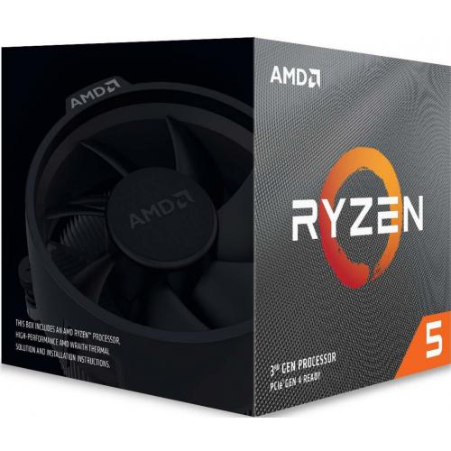AMD RYZEN 5 3600 6 Core, 3,60-4.20GHz 35Mb Cache 65W Wraith Stealth FAN AM4 BOX