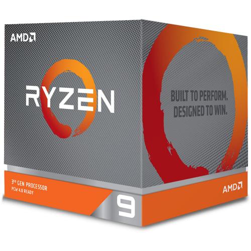 AMD RYZEN 9 3900X 12 Core, 3,80-4.60GHz 72Mb Cache 105W RGB LED Wraith Prism FAN AM4 BOX
